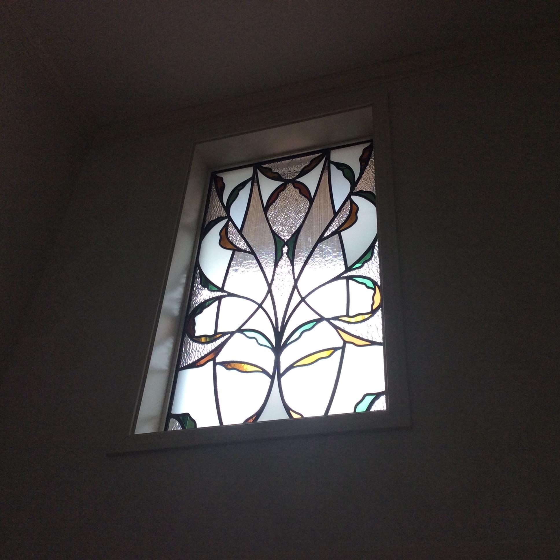 P様邸 室内ドア,フィックス窓