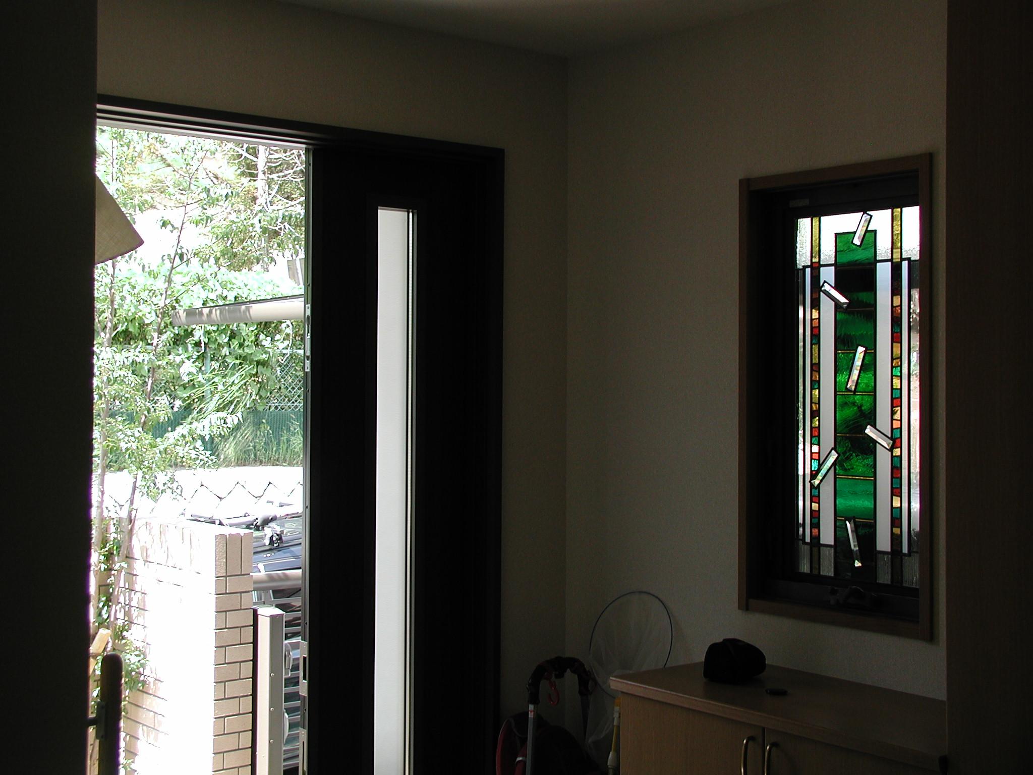 L様邸 玄関窓